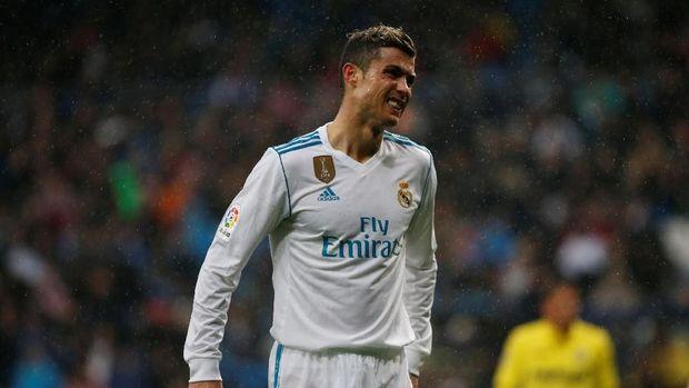 Cristiano Ronaldo gagal mengonversi peluang dalam laga kontra Villarreal, Sabtu (13/1) waktu setempat.