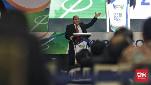 Anggota dan pemilik suara PSSI di Kongres 2018 tidak mempermasalahkan Edy Rahmayadi yang maju sebagai calon gubernur.