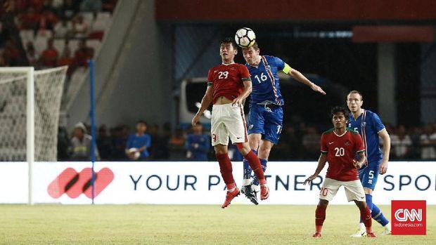 Timnas Indonesia mengalami kekalahan dalam laga internasional perdana di tahun 2018.