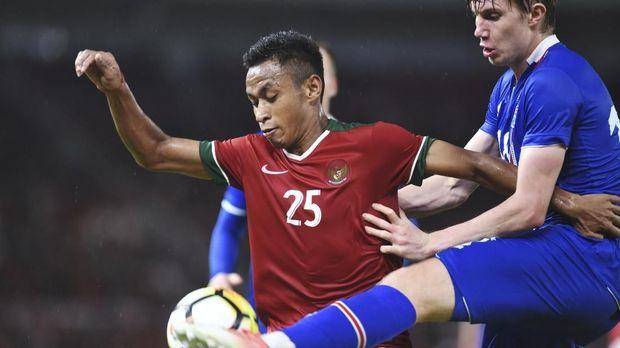 Timnas Indonesia sempat merepotkan Islandia di babak pertama.