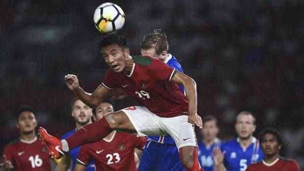 Timnas Indonesia gagal mengimbangi Islandia di babak kedua.