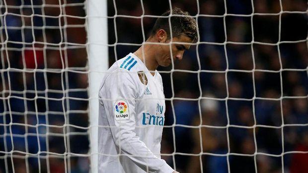 Real Madrid tidak pernah menang dalam tiga laga terakhir La Liga.