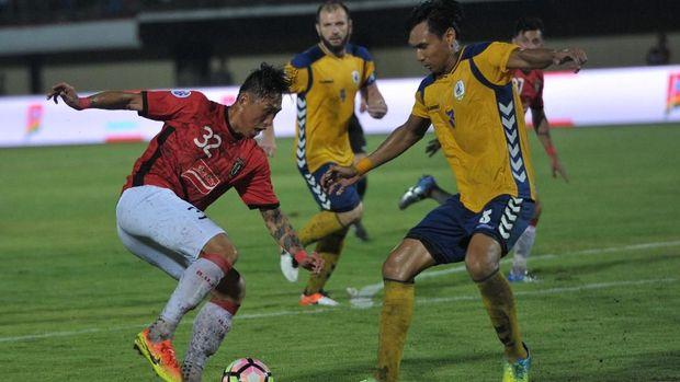 Bali United sukses menekuk Tampines Rovers 3-1 di putaran pertama kualifikasi Liga Champions Asia. (