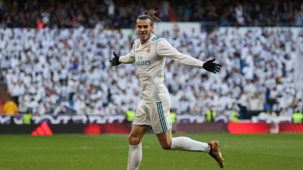 Gareth Bale mencetak dua gol pada pesta kemenangan 7-1 Real Madrid atas Deportivo La Coruna. (