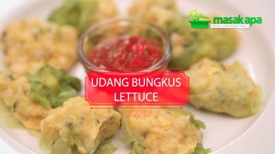 Udang Bungkus Lettuce