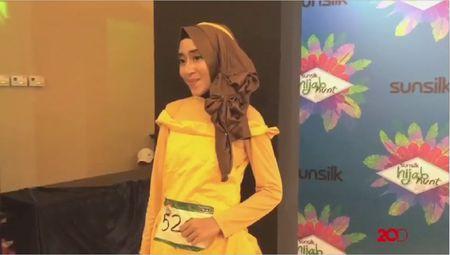 Drama Princess Belle Ala Audisi Sunsilk Hijab Hunt 2017 Bandung
