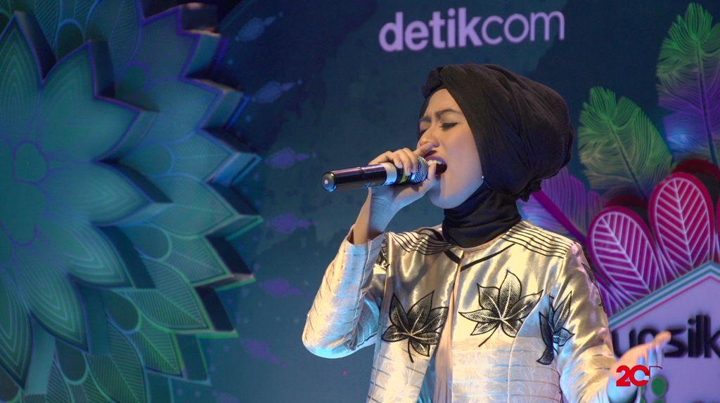 23 Besar Sunsilk Hijab Hunt 2017 Medan - Cellia Cordhitta