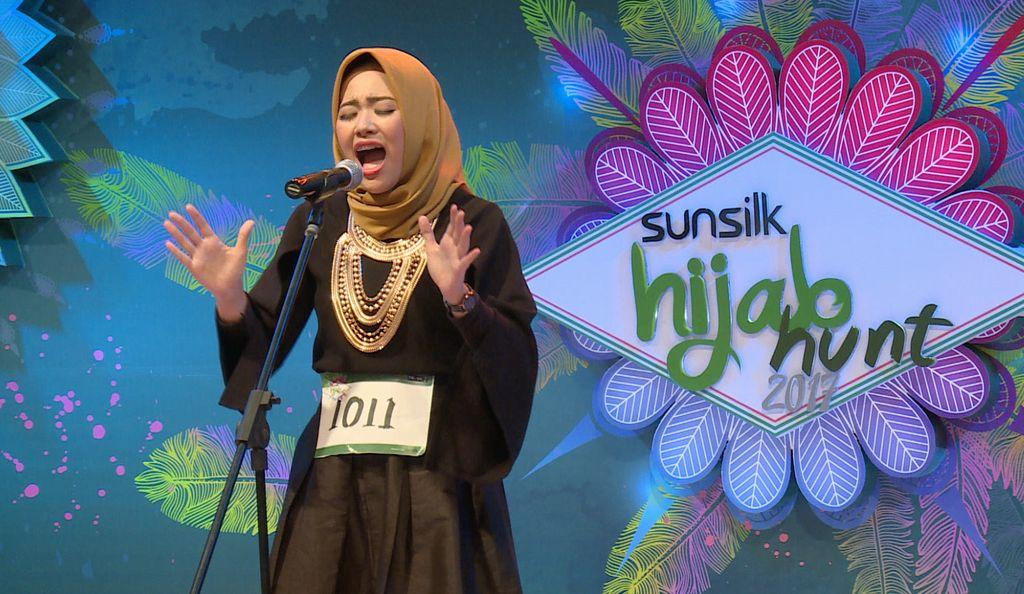 20 Besar Sunsilk Hijab Hunt 2017 Yogyakarta - Novida Halleine Putri