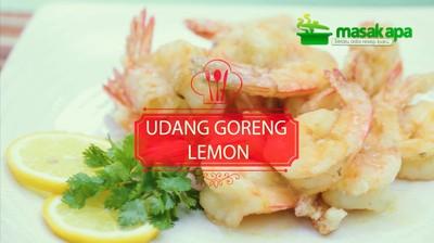 Udang Goreng Lemon