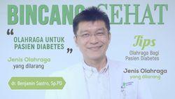 Inilah Olahraga yang Aman untuk Pasien Diabetes
