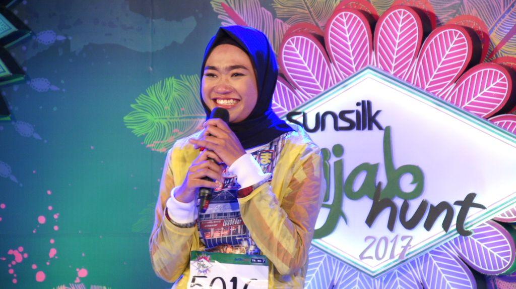 30 Besar Sunsilk Hijab Hunt 2017 Bandung - Dian Lestari Rahmadani