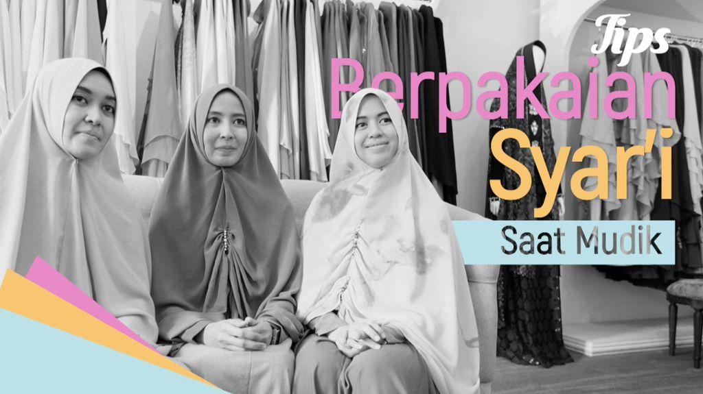 Tips Baju Syari untuk Mudik dan Lebaran