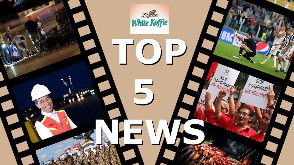 Top 5 News: Grab Utang Rp 9,4 Triliun, Vlog Mandalika Jokowi