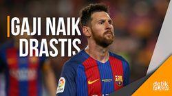 Barcelona Resmi Perpanjang Kontrak Messi