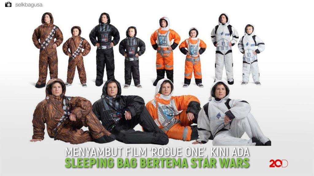 Keren! Sleeping Bag Unik Bertema Star Wars