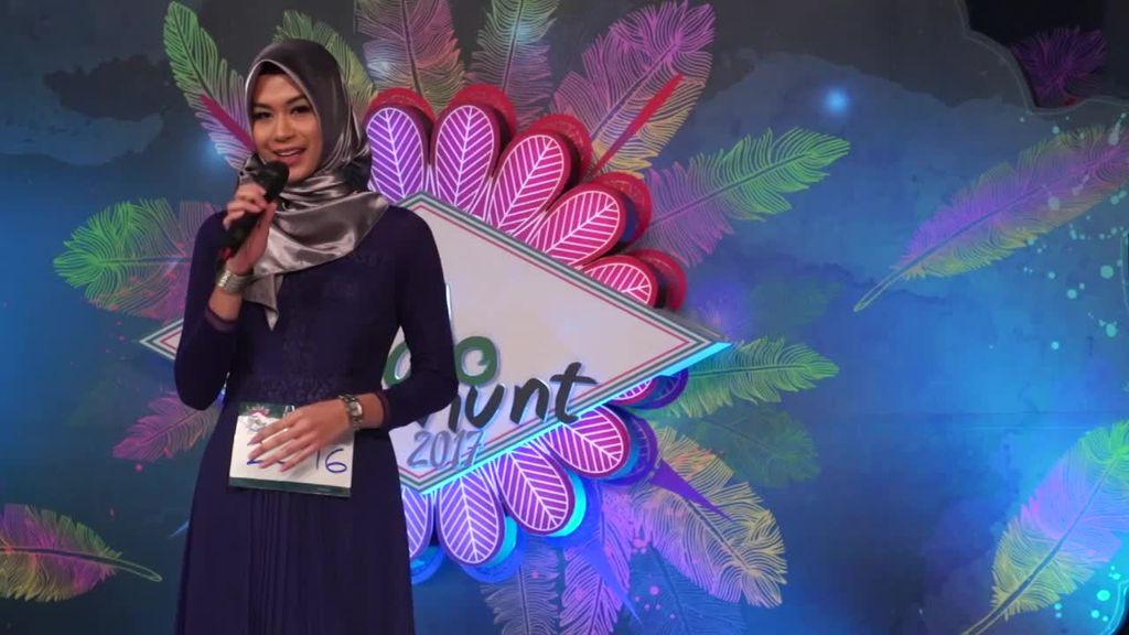 24 Besar Sunsilk Hijab Hunt 2017 Surabaya - Sekar Fathiya Azni