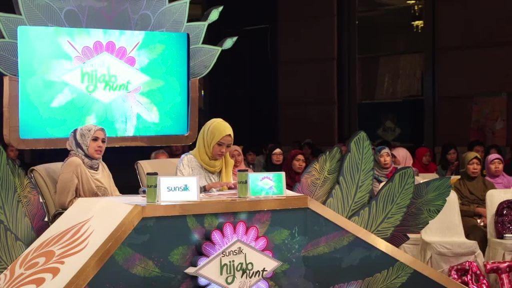 24 Besar Sunsilk Hijab Hunt 2017 Surabaya - Shella Amalia