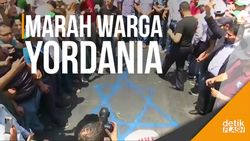 Konflik Baru Israel dan Palestina Picu Aksi Warga Yordania