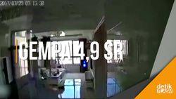 Rekaman CCTV Gempa Bumi 4,9 SR di China