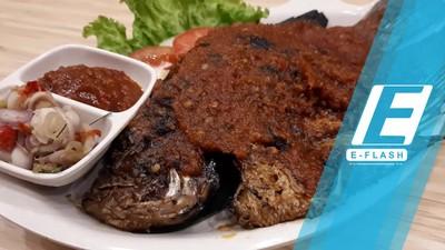 Hot! Gurih Pedas Gurame Bakar dan Nasi Ayam Betutu