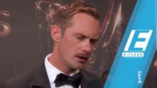 Nicole Kidman Cium Bibir Alexander Skarsgard di Emmys 2017