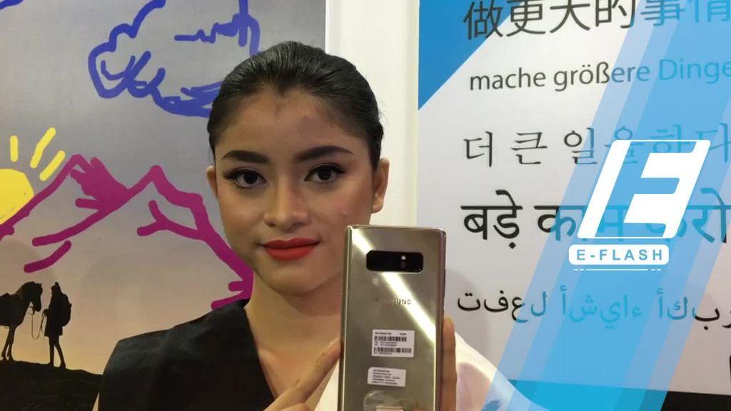 Galaxy Note 8 Resmi Hadir di Indonesia