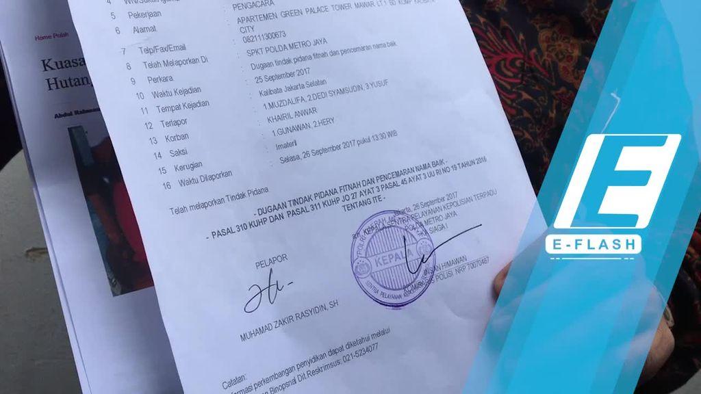 Dituding Punya Banyak Utang, Khairil Anwar Laporkan Muzdhalifah
