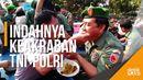 Potret Keakraban TNI-Polri di Kediri