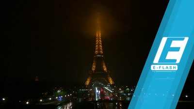 Hormati Korban Penembakan Las Vegas, Lampu Eiffel Dimatikan
