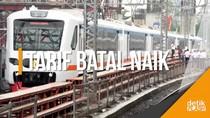 Asyik... Tarif Kereta Ekonomi Batal Naik 1 Januari 2018