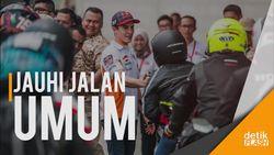 Penggemar MotoGP Ditantang Ngebut di Sirkuit