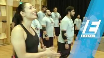 Shadia Bseiso, Pegulat Cantik Asal Timur Tengah yang Dikontrak WWE