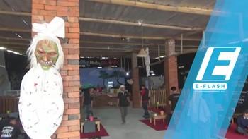Sensasi Horor Makan Nasi Jagung di Pujasera Demit