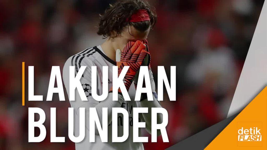 Saat MU Dibantu Kiper Belia Benfica