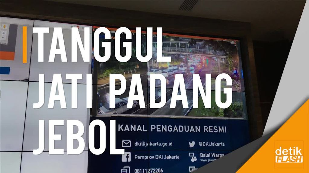 Lewat Jakarta Smart City, Anies Pantau Banjir di Jakarta