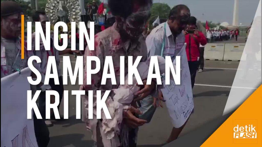 Hiii... Ada Zombi Tuntut Ketemu Jokowi