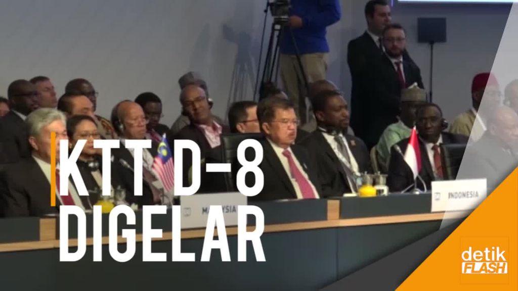 Jusuf Kalla hingga Erdogan Hadiri KTT D-8 di Istanbul