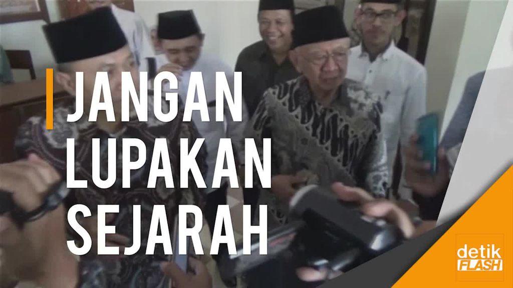 Ceramah soal Hasyim Asyari, Ketua MPR: Pemuda Harus Tahu Sejarah
