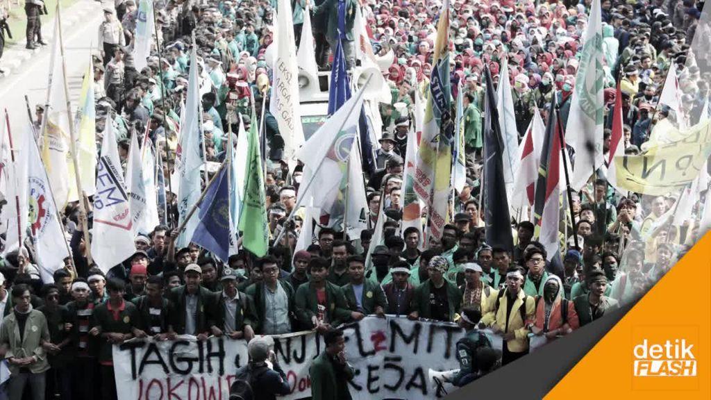 Melihat Kembali Aksi Unjuk Rasa 3 Tahun Jokowi-JK