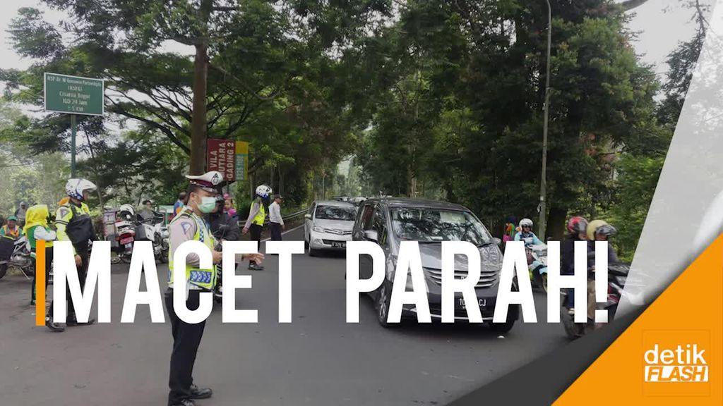 Polisi: One Way di Puncak Terganggu, Ada Acara Pemprov DKI