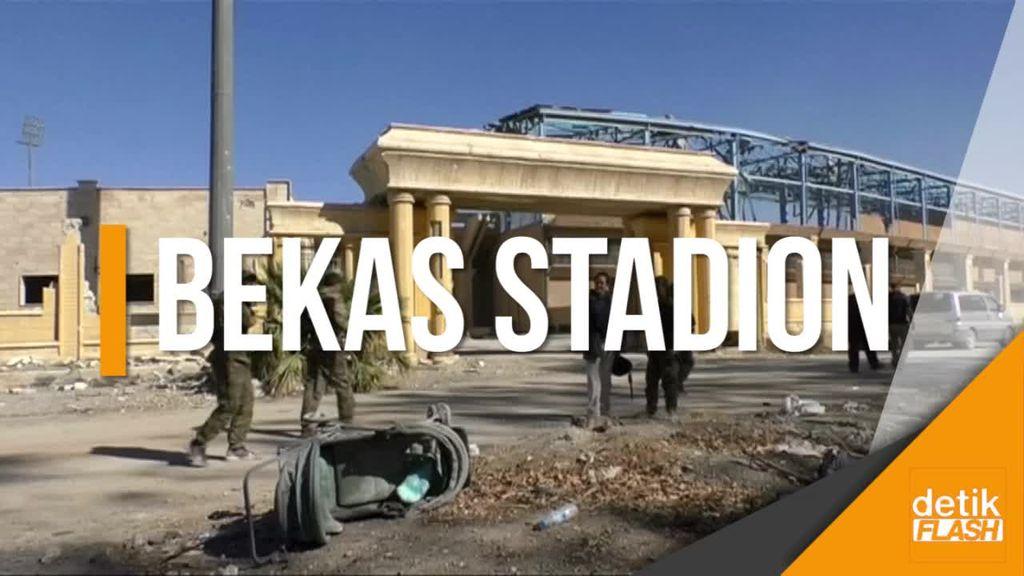 Menengok Salah Satu Markas ISIS di Suriah