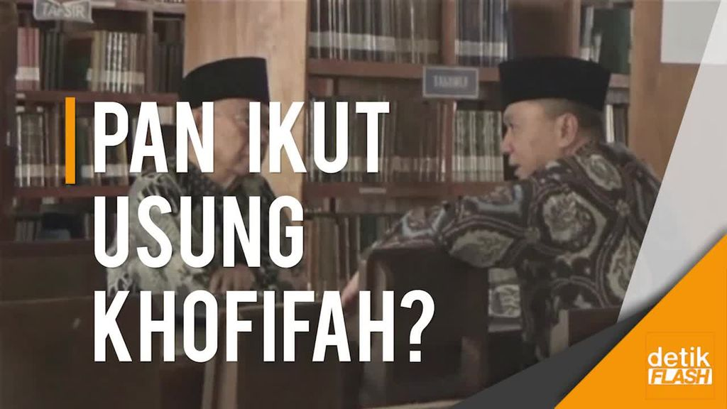 Momen Perundingan Singkat Zulkifli-Gus Sholah Bahas Pilgub Jatim