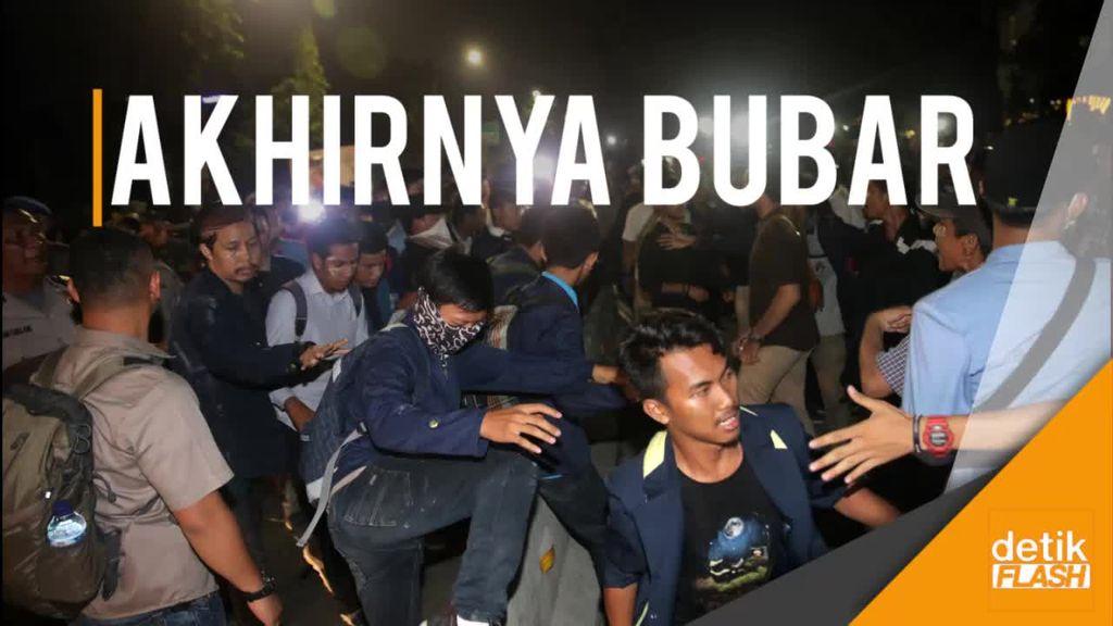 Aksi Bubar, Polisi: Orang Tuamu di Kampung Macul Buat Kuliahkanmu