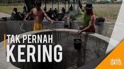 Tak Pernah Kering, Inilah Penampakan Sumur Keramat di Cirebon