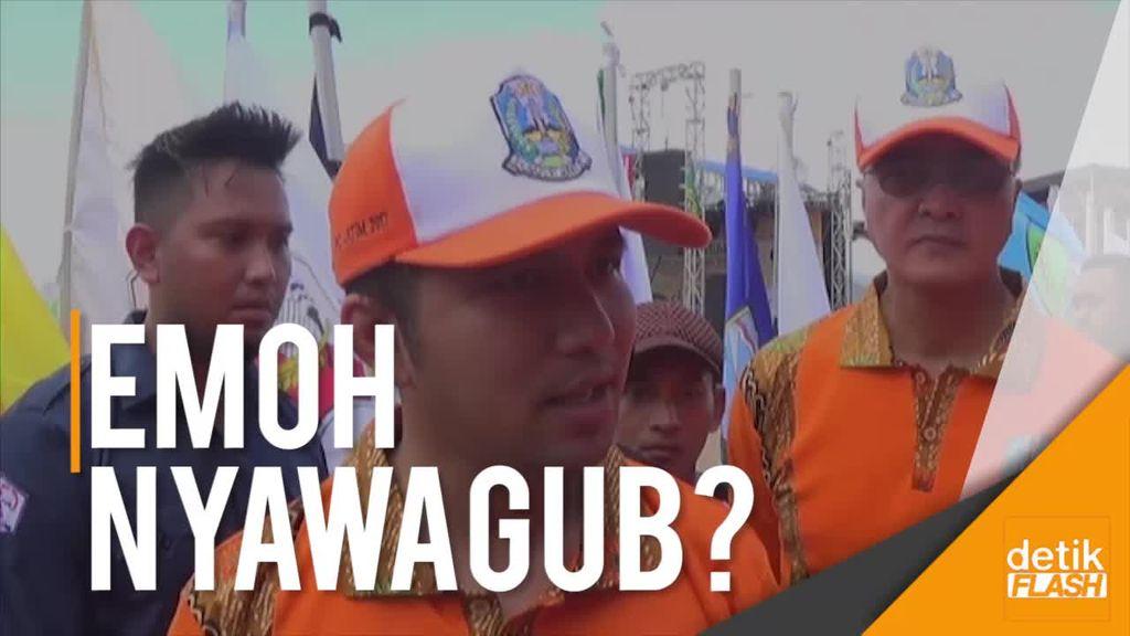 Emil Dardak Ogah Maju Jadi Cawagub Jatim?