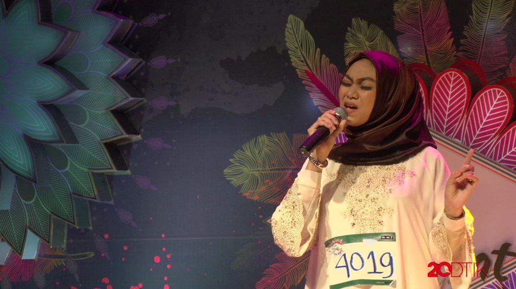 23 Besar Sunsilk Hijab Hunt 2017 Medan - Syarifah Intan Amalia
