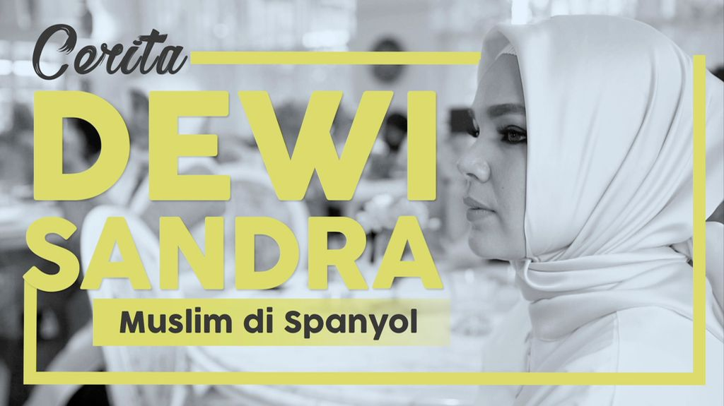 Cerita Dewi Sandra Soal Muslim di Spanyol