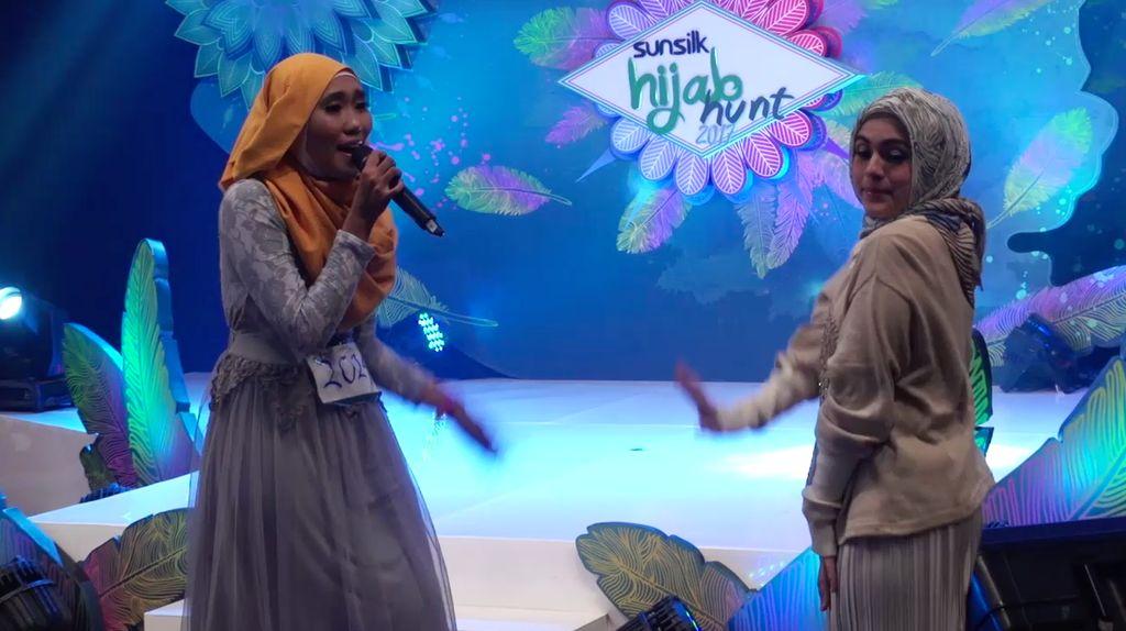 24 Besar Sunsilk Hijab Hunt 2017 Surabaya - Ummu Safina Bilqis