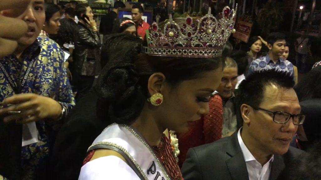 Bunga Jelita Tak Menyangka Jadi Juara Puteri Indonesia 2017