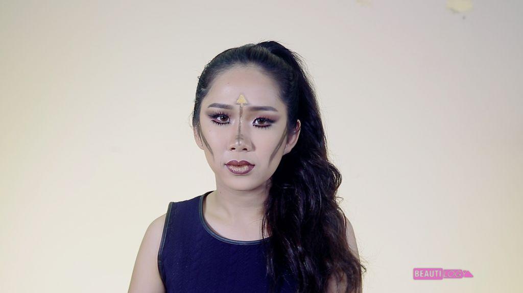 Sagittarius Inspired Make Up